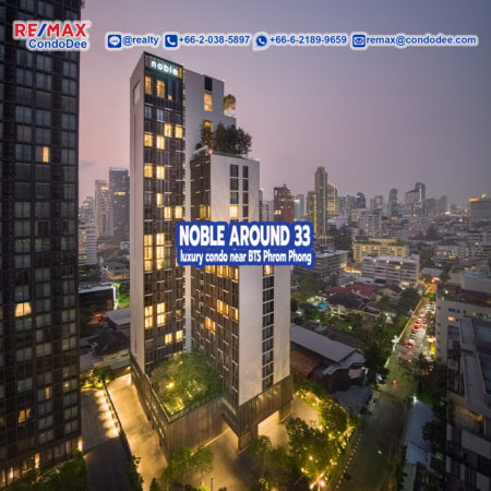 Noble Around Sukhumvit 33 Luxury Bangkok Condominium Near BTS Phrom Phong