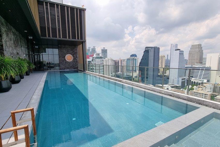 Noble ANoble Around Sukhumvit 33 Luxury Bangkok Condominium Near BTS Phrom Phonground Sukhumvit 33 - rooftop