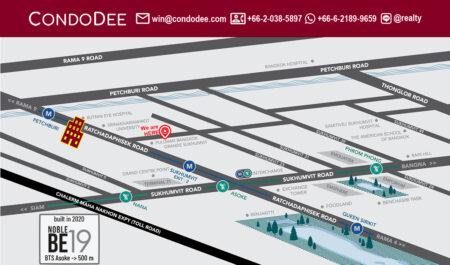 Noble BE19 Condominium in Asoke in Sukhumvit 19