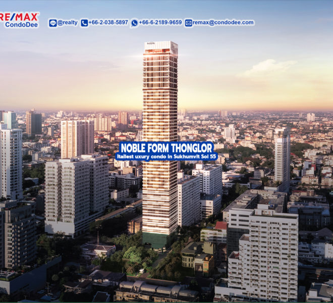 Noble Form Thonglor 1 - REMAX CondoDee