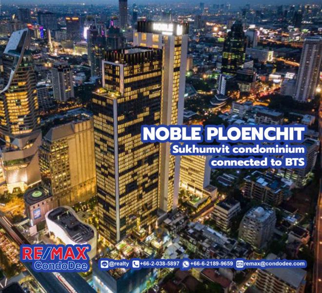 Noble Ploenchit - Sukhumvit Condominium Near BTS Ploenchit