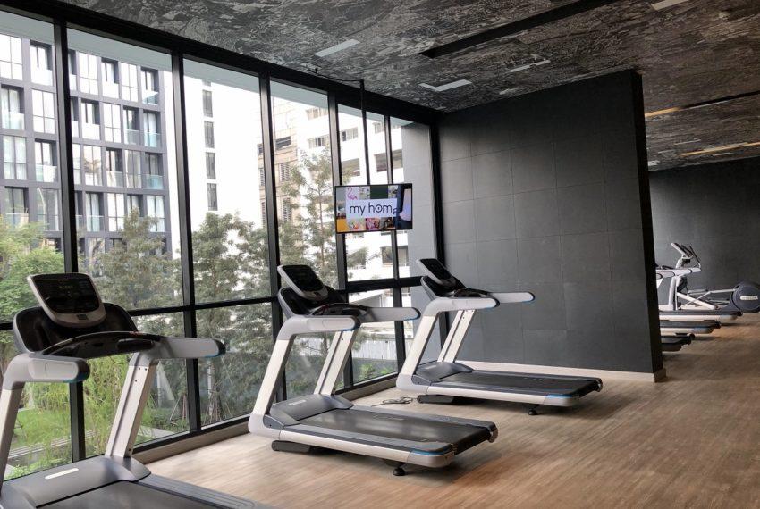Noble Ploenchit condo at Sukhumvit Road - gym