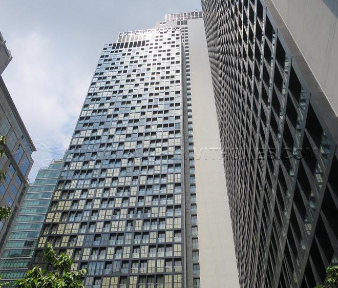 Noble Ploenchit condo at Sukhumvit Road - towers