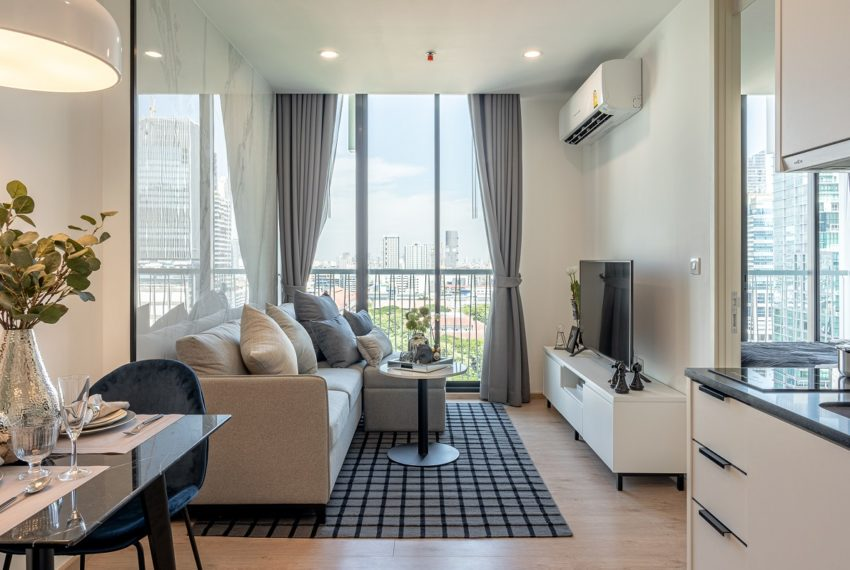 Noble Recole 1-bedroom - living