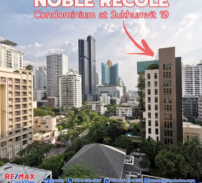 Noble Recole Sukhumvit 19 Condominium in Asoke