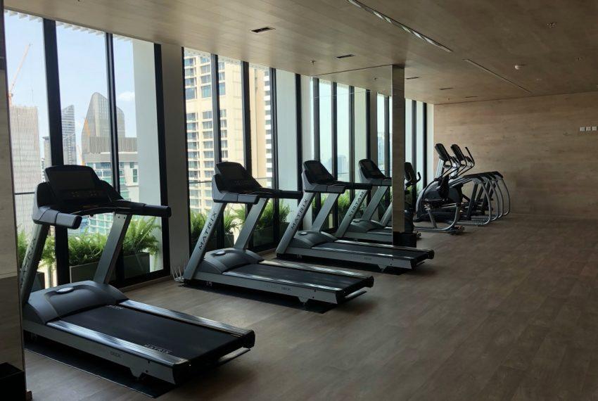 Noble Recole condo at SUkhumvit 19 - gym