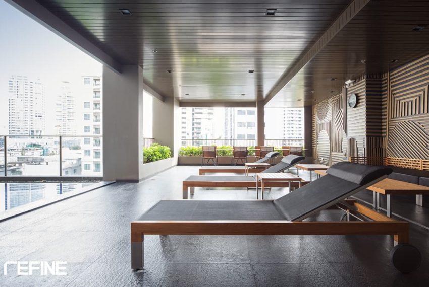 Noble Refine SUkhumvit 26 condo - relax area