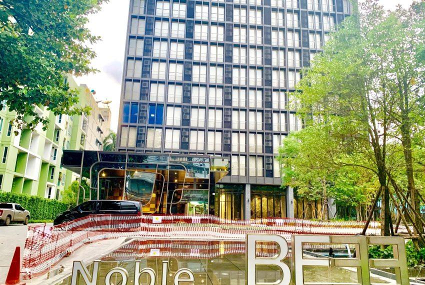 Noble be33 condo - entrance