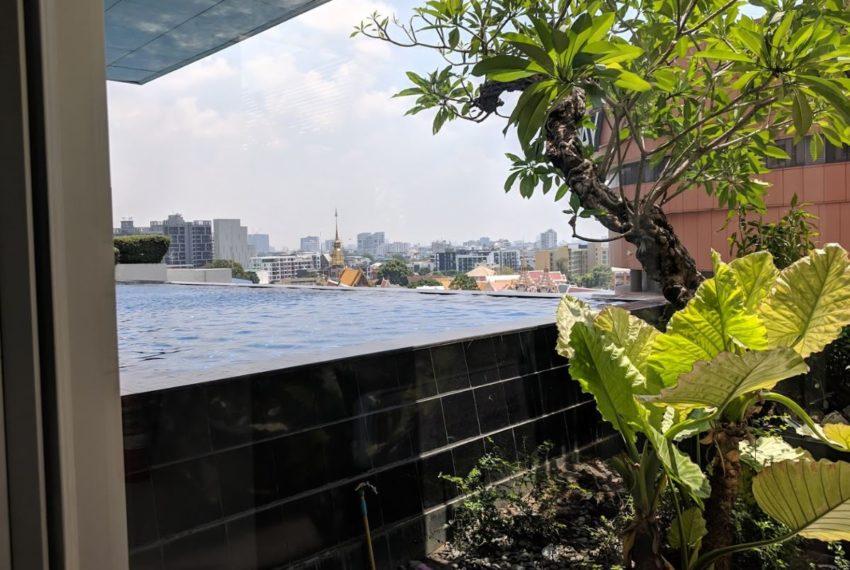 Nusasari Grand Condo Sukhumvit 42 - garden