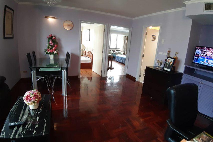 Omni Tower Sukhumvit Nana - 2 bedroom - sale - living