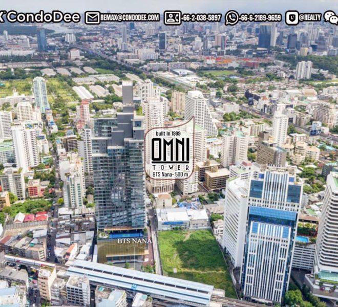 Omni Tower Sukhumvit Nana - REMAX CondoDee