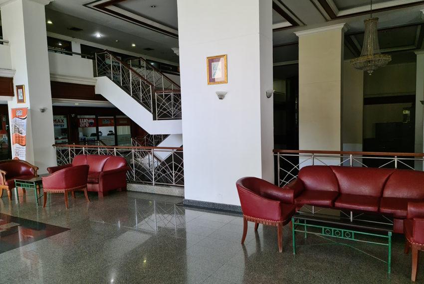 Omni tower - lobby