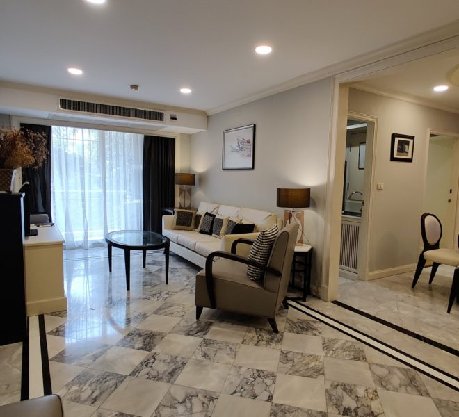 Condo for rent near Samitivej Hospital - 2-bedroom - low-rise - Prime Mansion Promsri