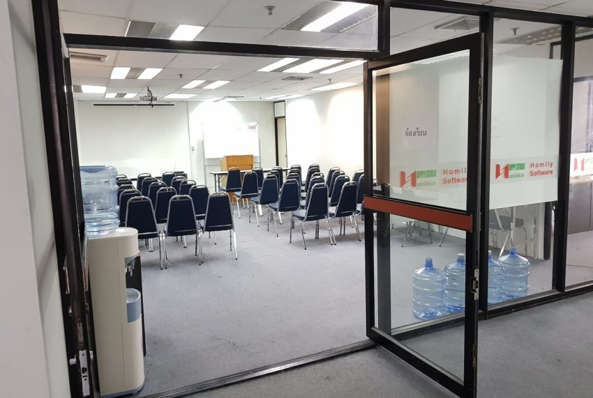 PS Tower Asoke Office for sale - training area