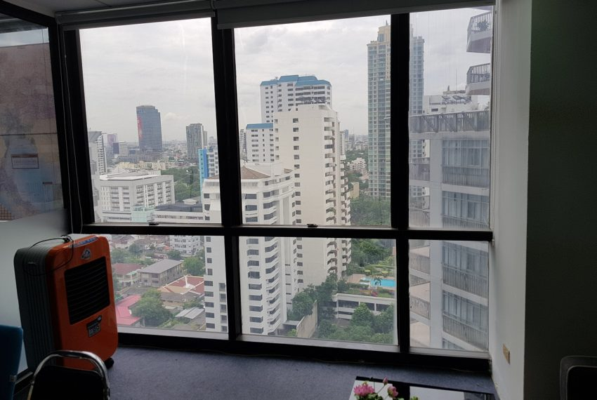 PS Tower Asoke Office for sale - window view 01