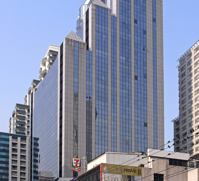 PS Tower Office building in Asoke - building