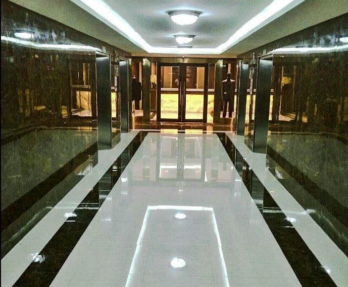 PS Tower Office building in Asoke - corridor