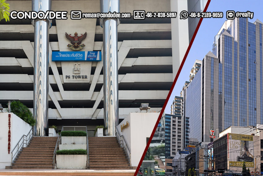 PS Tower office building - REMAX CondoDee