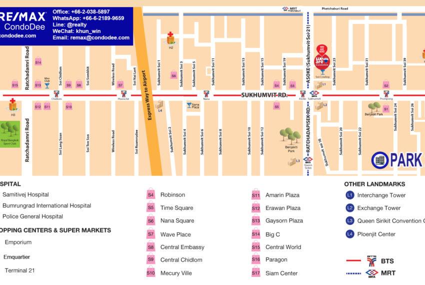 Park 24 condominium - map