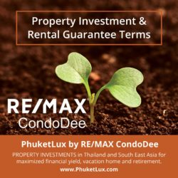 Property Investment & Rental Guarantee Terms in Thailand
