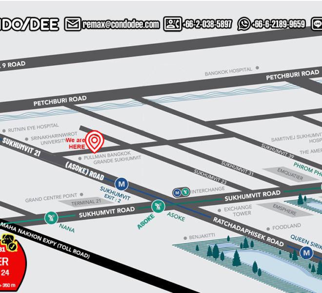 Premier Condominium Sukhumvit 24 - map
