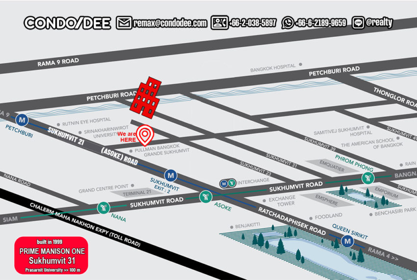 Prime Mansion One - map
