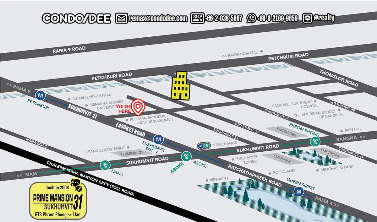 Prime Mansion Sukhumvit 31 Condominium
