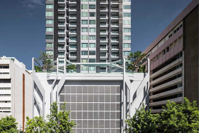 Pyne by Sansiri condominium - bldg