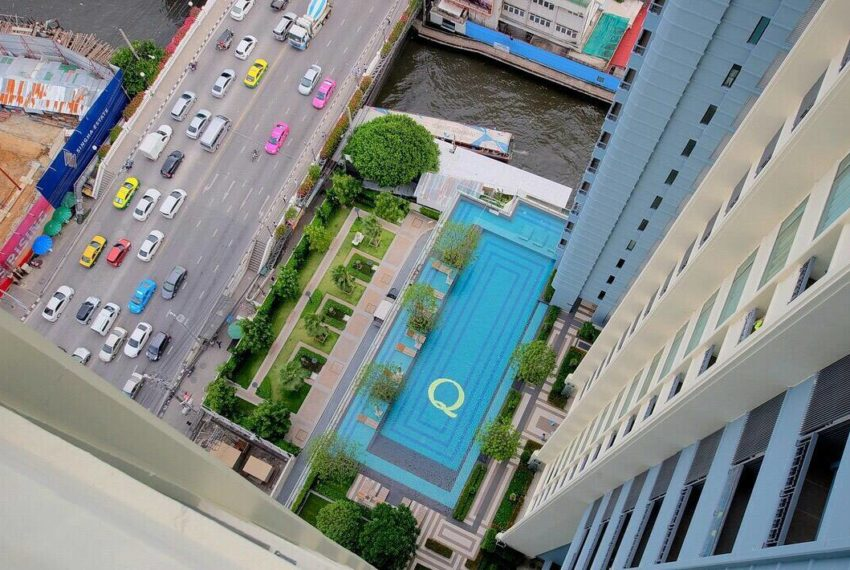 Q-Asoke-1-bedroom-sale-high-floor-pool-view