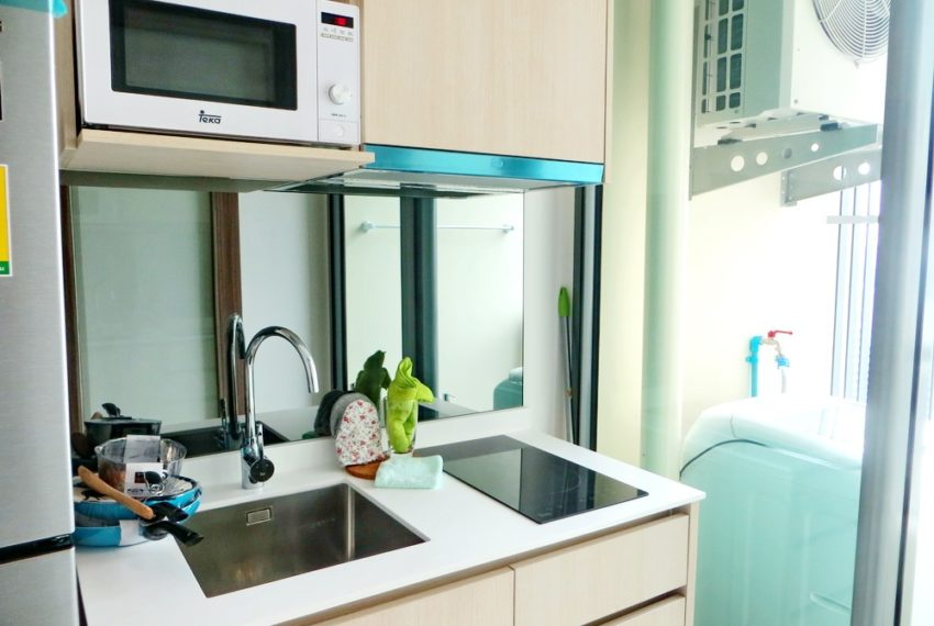 Q Asoke- 1b1b- For rent-kitchen01