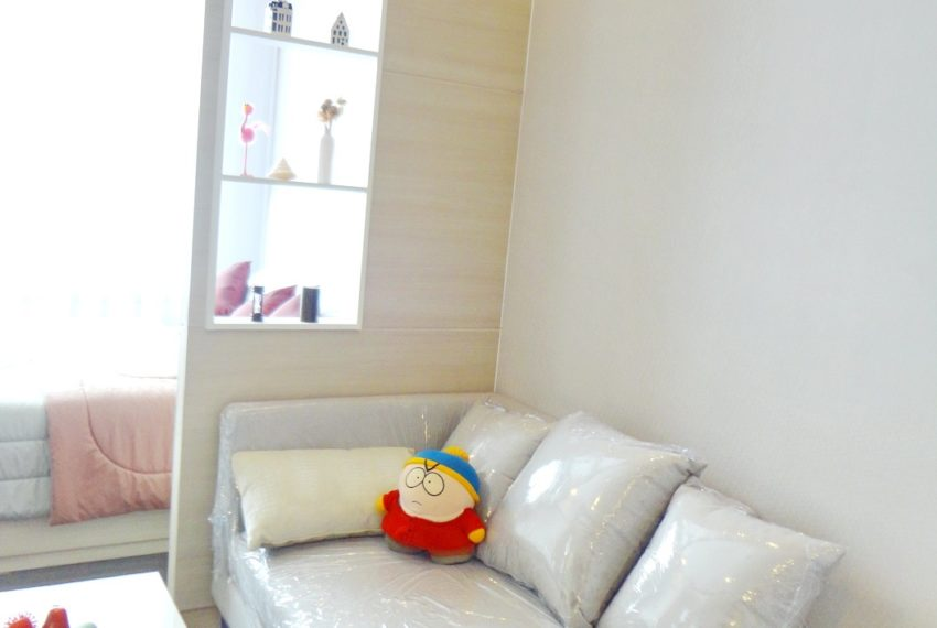 Q Asoke- 1b1b- For rent-sofa bed area01