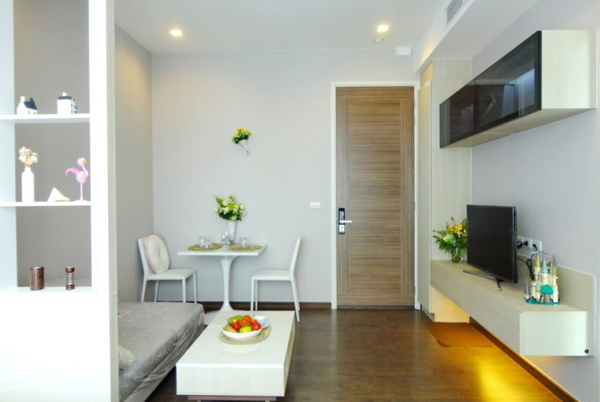 Q Asoke- 1b1b- For rent-tv dinning area03