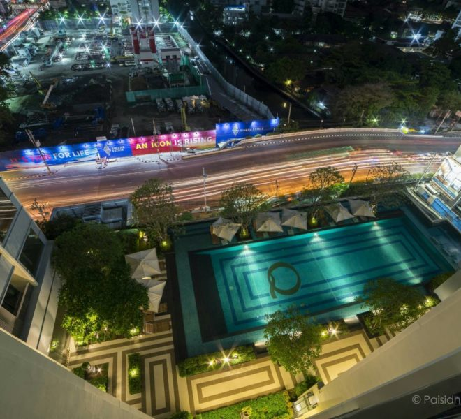 1-Bedroom Bigger Condo in Q Asoke For Sale on Mid-Floor With Pool View