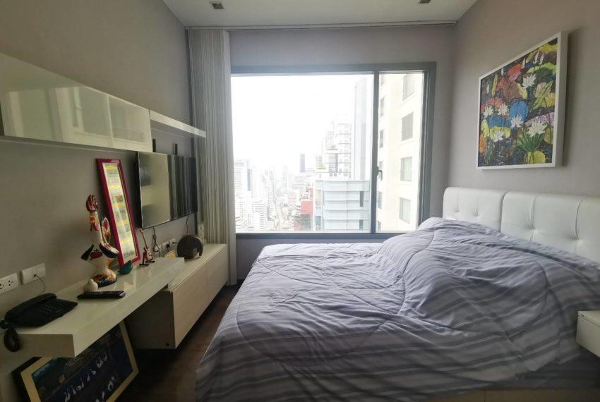 Q Asoke - 2 beds 1 bath -For Sale - Master bedroom 3