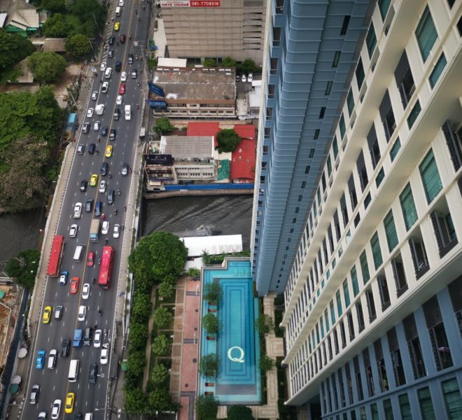 2-Bedroom Condo Sale Q Asoke - Top Floor 2-Bedroom - near MRT
