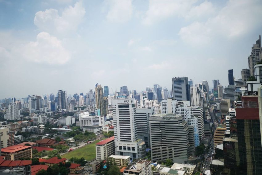 Q Asoke - 2 beds 1 bath -For Sale - View from room