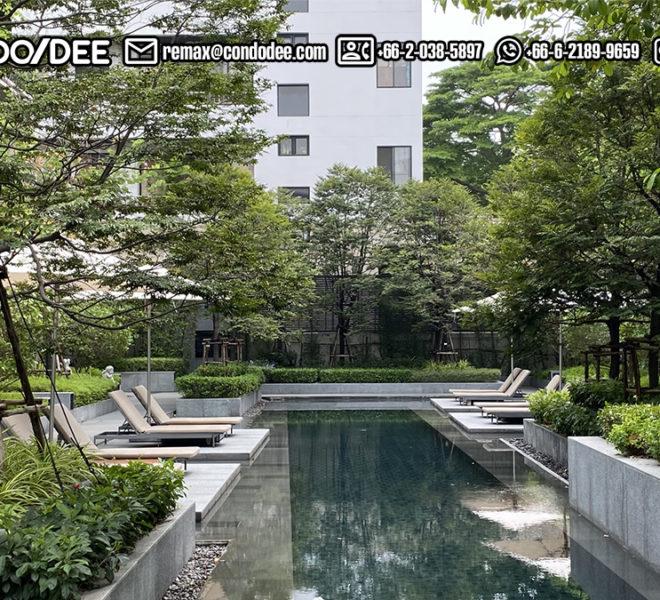 Quarter 31 - luxury townhouses in Asoke - entrance
