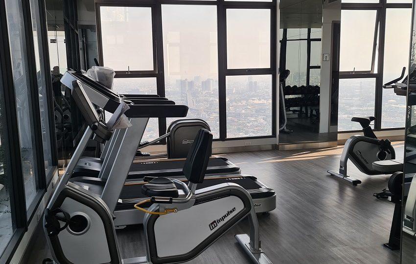 Ramada Plaza Residences Sukhumvit 48 - gym 40 floor