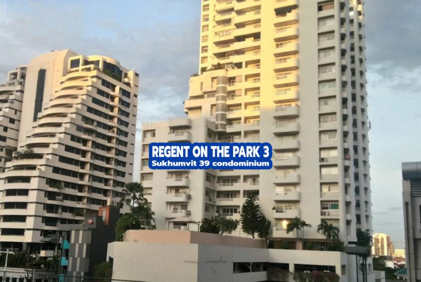 Regent on The Park 3 Sukhumvit 39 - REMAX CondoDee