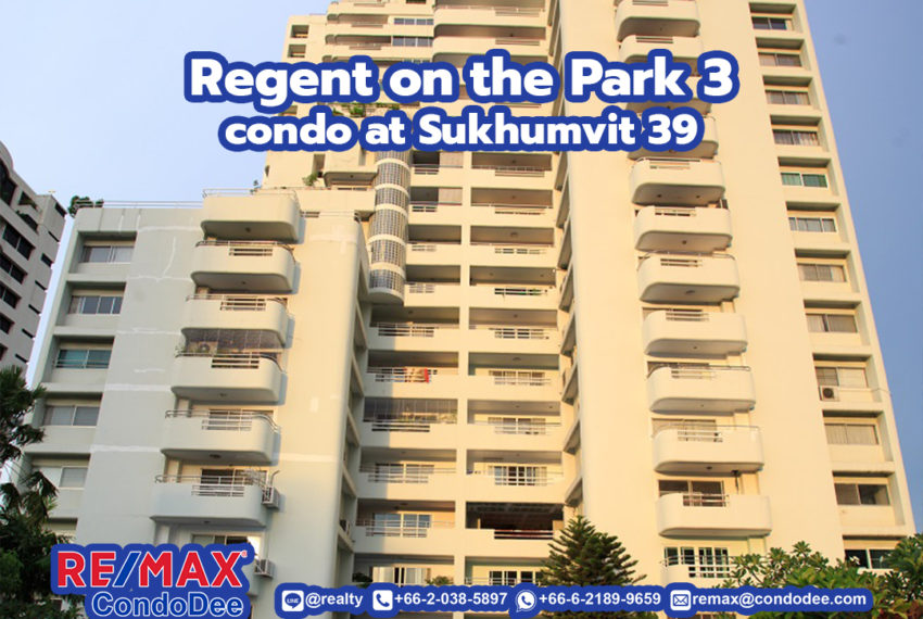 Regent on the Park 3 - REMAX CondoDee