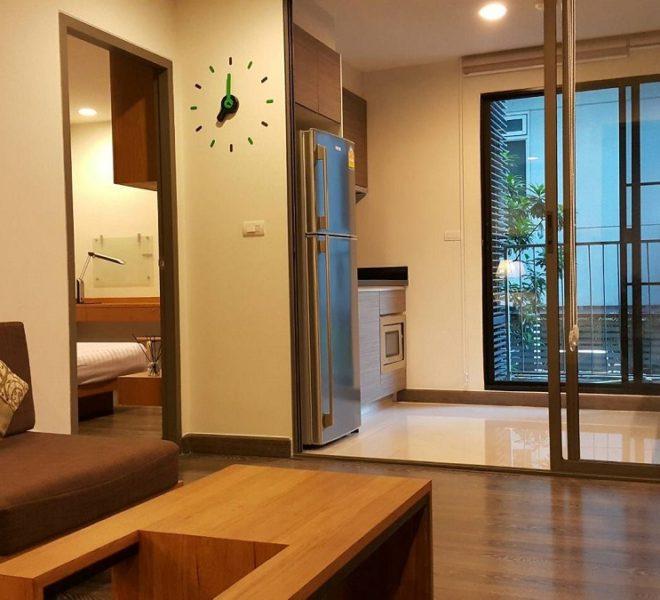 Flat for rent in Asoke near University - 1 bedroom - Rende Sukhumvit 23