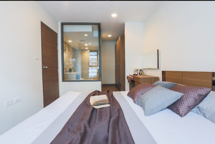 Rende Sukhumvit 23 - 1-bedrom - sale with tenant - bed