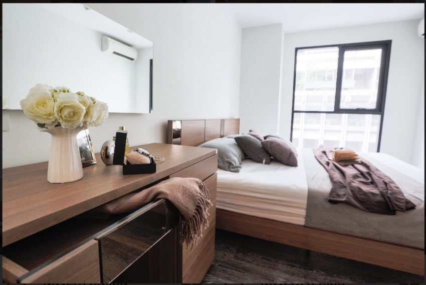 Rende Sukhumvit 23 - 1-bedrom - sale with tenant - bedroom