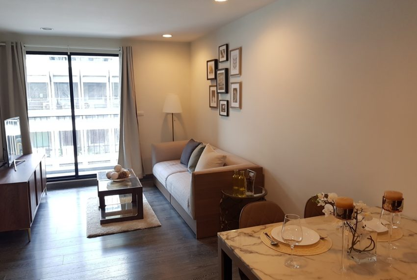 Rende Sukhumvit 23 - 1-bedrom - sale with tenant - living room