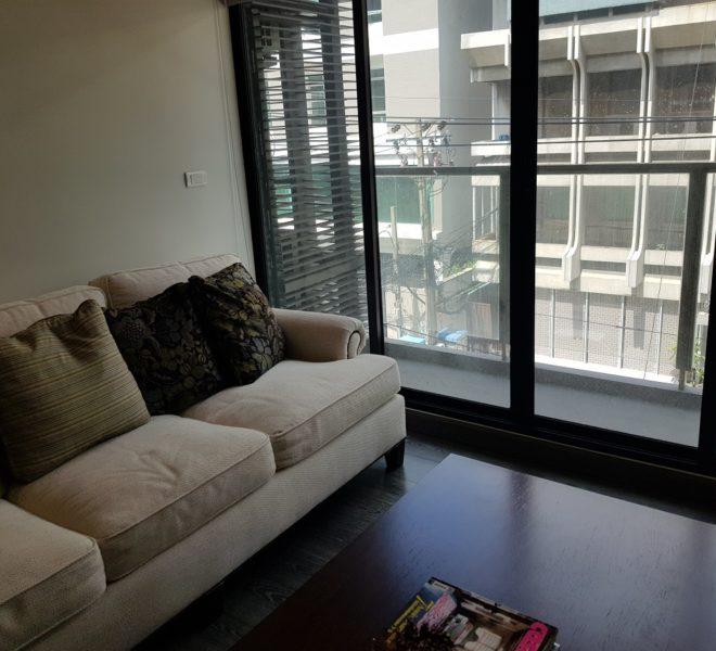 Rende Sukhumvit 23 2bedroom sale - balcony