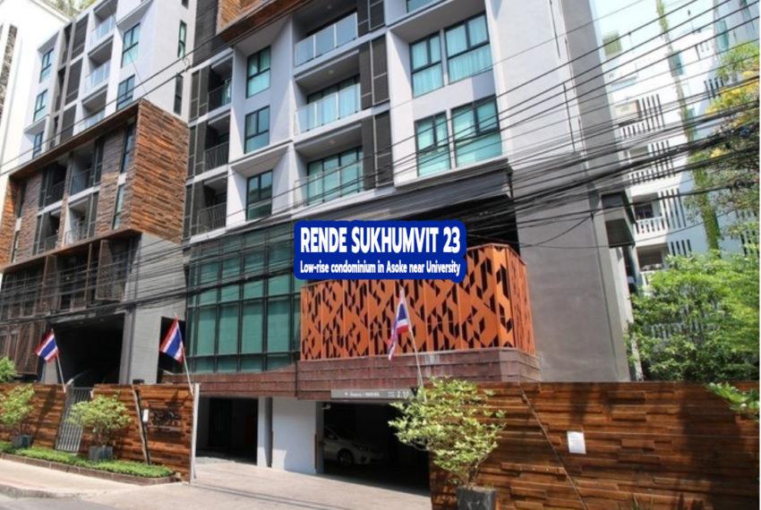 Rende Sukhumvit 23 condo - REMAX Bangkok