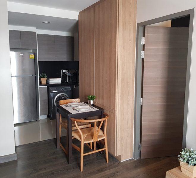 Rende Sukhumvit 23 in Asoke - 1bedroom for sale - kitchen