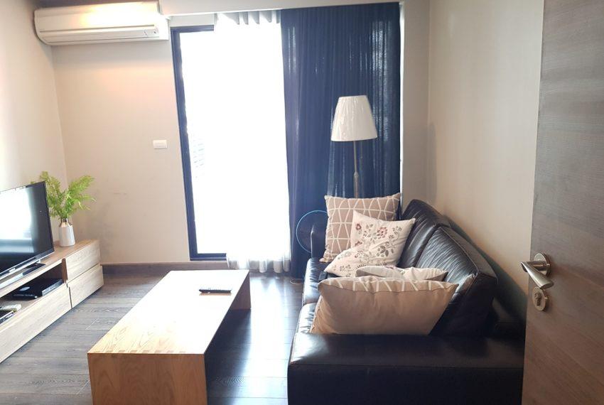 Rende Sukhumvit 23 in Asoke - 1bedroom for sale - living
