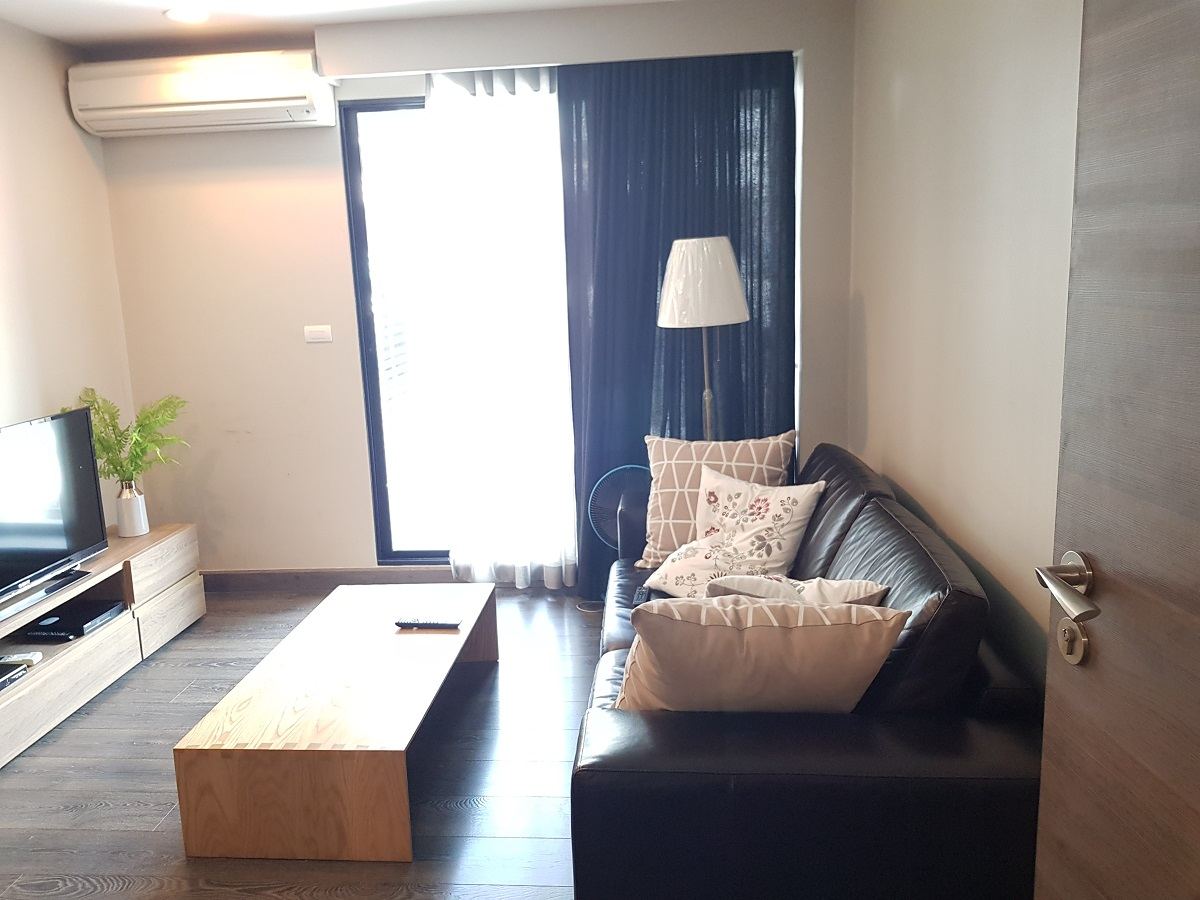 Investment apartment for sale with tenant - Asoke - 1 Bedroom - Rende Sukhumvit 23 condo