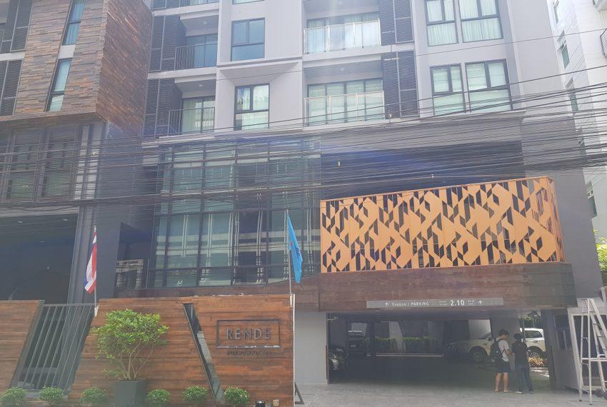 Rende Sukhumvit 23 serenity condo in Asoke - building facade